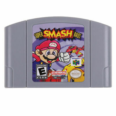 Video Game Cartridge For Super Mario,Kart Party Smash Bros Nintendo 64 N64 AU