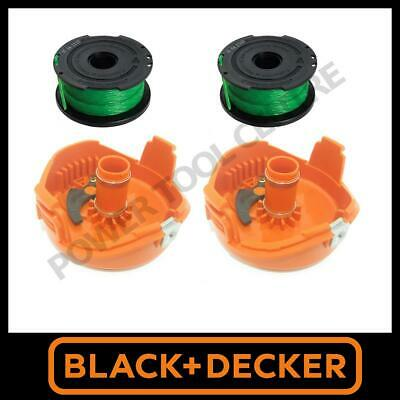3x Genuine Black /& Decker String Trimmer Strimmer Orange Spool Cap Fits GL8033