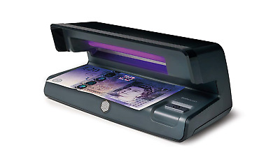 Safescan 50 Black - UV counterfeit detector for the verification of banknotes,