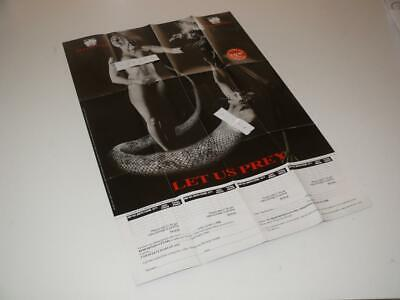 Original Redemption Video Poster ~ Front & Back printed ~ VHS related