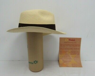 1e943e43 NEW GENUINE PANAMA Hat Rolling All Sizes Quality Travel Tube - White ...