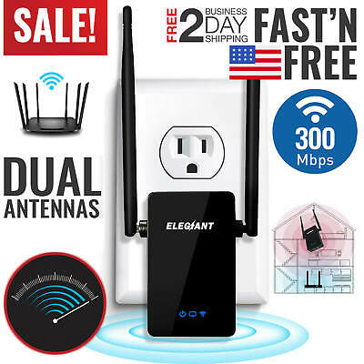2 MILE RANGE! Long Range WIFI Repeater Extender Router For