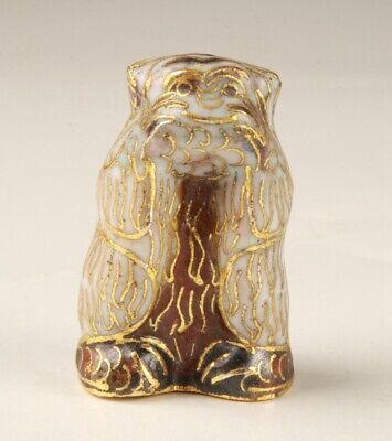 Chinese Cloisonne Hand Carving Cute Monkey Figurines Statue Gift Collection