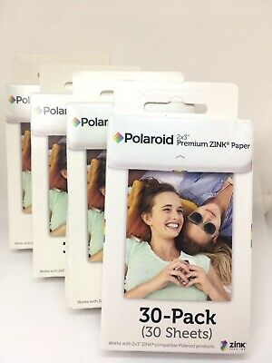 Polaroid 2x3 inch Premium ZINK Photo Paper - 120 Sheets Total - Free Shipping!!