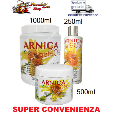 Officinalis Arnica gel 90% cavalli 250/500/1000ml antinfiammatorio distorsioni
