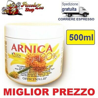 Officinalis Arnica gel 90% cavalli 500ml antinfiammatorio distorsioni muscoli