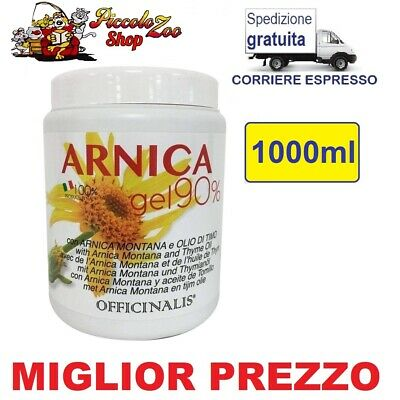 Officinalis Arnica gel 90% cavalli 1000ml antinfiammatorio distorsioni muscoli