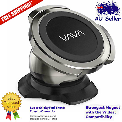 VAVA Magnetic Phone Holder for Car Dashboard Mount with Strong Magnet - Black