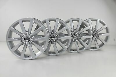 VW Golf 7 Alloy Wheels 17-inch Rims Dijon Wheel Rim Set 5G0601025K