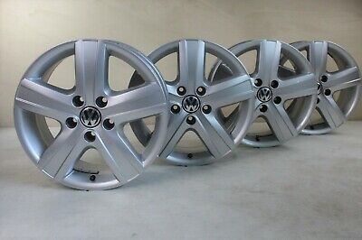 VW T5 7H Transporter Rims Thunder Alloy Wheels 17-inch Wheel Rim Set 7H0601025H
