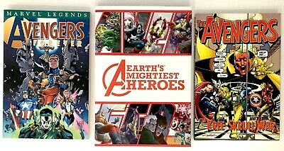 Marvel Avengers Earth's Mightiest Heroes, Kree/Skrull War & Forever collections