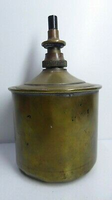 Antique Science Laboratory Medical Brass Measured Dispenser