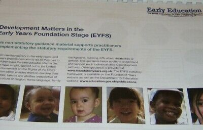 Development Matters in the  Early Years Foundation Stage EYFS