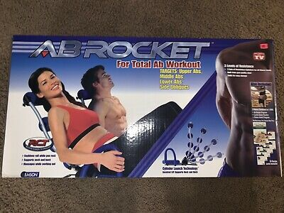 Ab Rocket Abdominal Trainer Excercise Machine COMPLETE In Box NEW