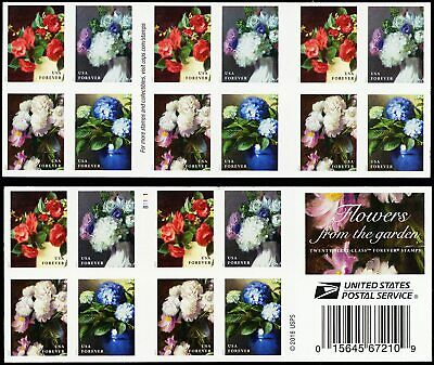 USPS Flowers From The Garden - Twenty First-Class Forever Stamps  Wedding