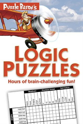 Ryder, Stephen P.-Puzzle Baron`S Logic Puzzles BOOK NEW
