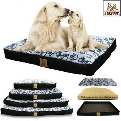 Super Large Pet Dog Bed Deluxe Ultra Plush Mattress Pet Bed for Dogs & Cats XXXL
