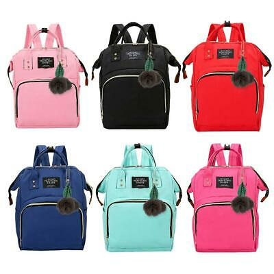 Mummy Maternity Nappy Diaper Bag Large Capacity Baby Care Backpack Handbag Totes