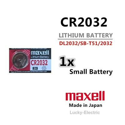 Maxell CR2032 3V Lithium Button Cell Battery