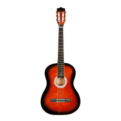 "Adult 6 String Music Gift US 38"" Acoustic Classic Guitar For Beginners Student"