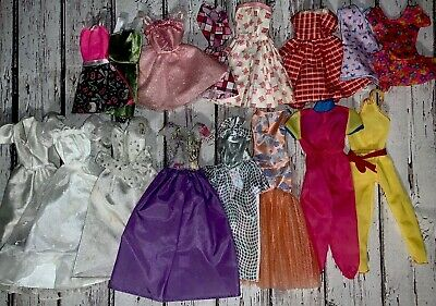 Barbie Doll Clothes Shoes Lot