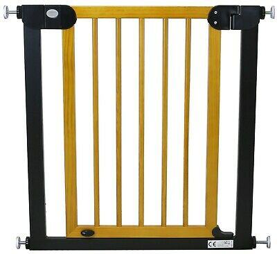 Solid Wood Designer StairGate Baby Safety Stair And Door Gate