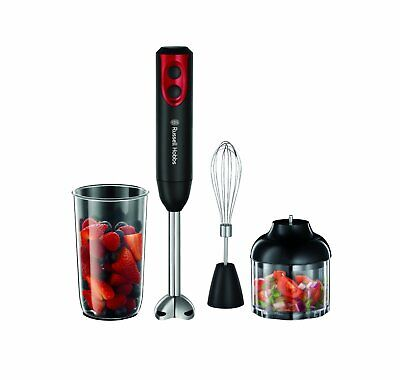 Russell Hobbs 18980 Desire 400W 2 Speed 3-in-1 Hand Blender Chopper & Beaker NEW