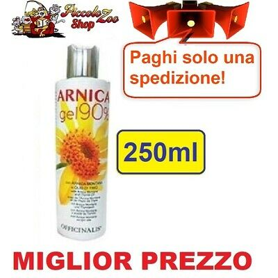 Officinalis Arnica gel 90% cavalli 250ml antinfiammatorio distorsioni tendini