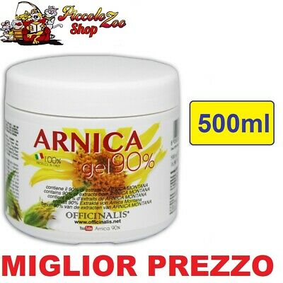 Officinalis Arnica gel 90% cavalli 500ml antinfiammatorio distorsioni tendini