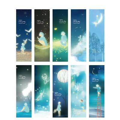 30pcs Star Bookmark Gift Book Marks Stationery Marque Page Paper Craft School