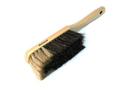 Barnwell Horse Hair Dust Pan Hand Brush Soft Bristles Brickwork Masons