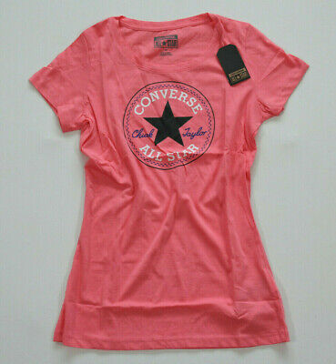 GR S ALL Star Converse Damen Women T Shirt TShirt Top Logo
