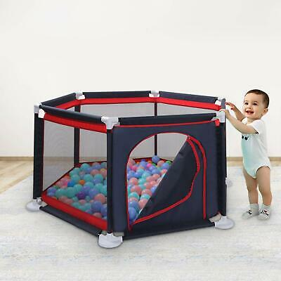 Baby Playpen, Playard for Baby - Safety Play Pen for Infant and Baby, with Sturd
