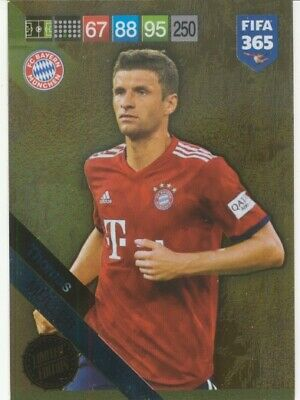 Panini Adrenalyn XL Fifa 365 2019 update Limited Edition Muller Bayern