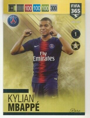 Panini Adrenalyn XL Fifa 365 2019 update Top Master Mbappe UE132