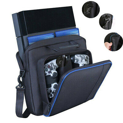 1xFor Sony PlayStation4 PS4 Black Multifunctional Travel Carry Case Carrying Bag