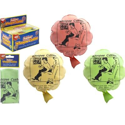 """8"""" Rubber Whoopee Cushion Fart Toy Gag Sound Bag Poo Joke Prank Party Trick"""