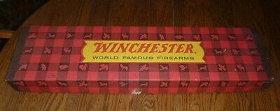 """Vintage 1974 Winchester World Famous Firearms Rifle Empty BOX  31.5' x 8"""" x 2.5"""""""