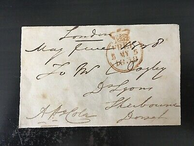 Arthur Henry Cole - Statesman& Diplomat In India - Orangeman - Signed Envelope