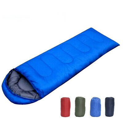 Sleeping Bag Waterproof Single Suit Case Camping Hiking Outdoor Envelope C0F6E