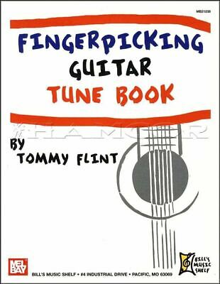 Fingerpicking Guitar Tune Book TAB Music Songbook Tommy Flint SAME DAY DISPATCH