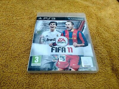 FIFA 11 PS3 Playstation 3 PAL ESPAÑA Buen Estado Funciona perfectamente