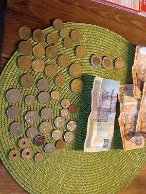 coins job lot Egypt Cyprus Few Others