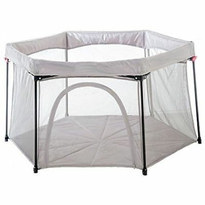 Koo-di DELUXE FOLDAWAY PLAYPEN GREY Baby Travel Safety - BN