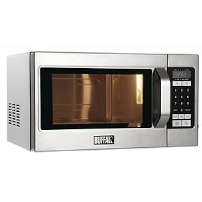 Buffalo Programmable Commercial Microwave Oven 1100W - GK642 Catering