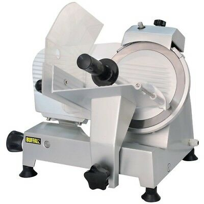 Buffalo Meat Slicer 220mm  120W  - CD277   Catering Butchers Kitchen Commercial