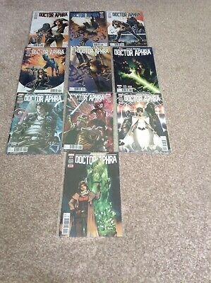 Star Wars Dr Aphra 1-10 Marvel Comics first prints