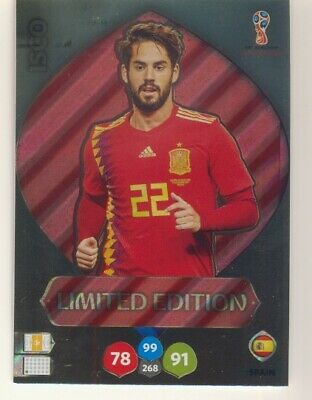 Panini Adrenalyn XL World Cup Russia 2018 25 Booster 150 trading cards WM