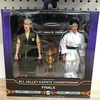 """Karate Kid 1984 8"""" Clothed Figure Tournament 2 pack NECA NEW In Hand"""