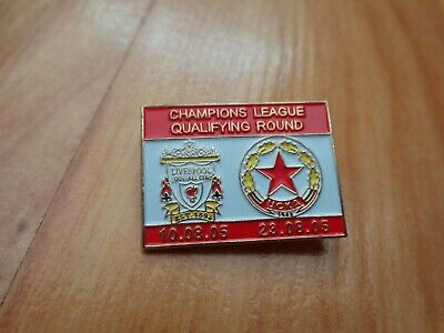 Liverpool Fc V Cska Sofia 2005/06 Champions League Qualifier Matchday Pin Badge